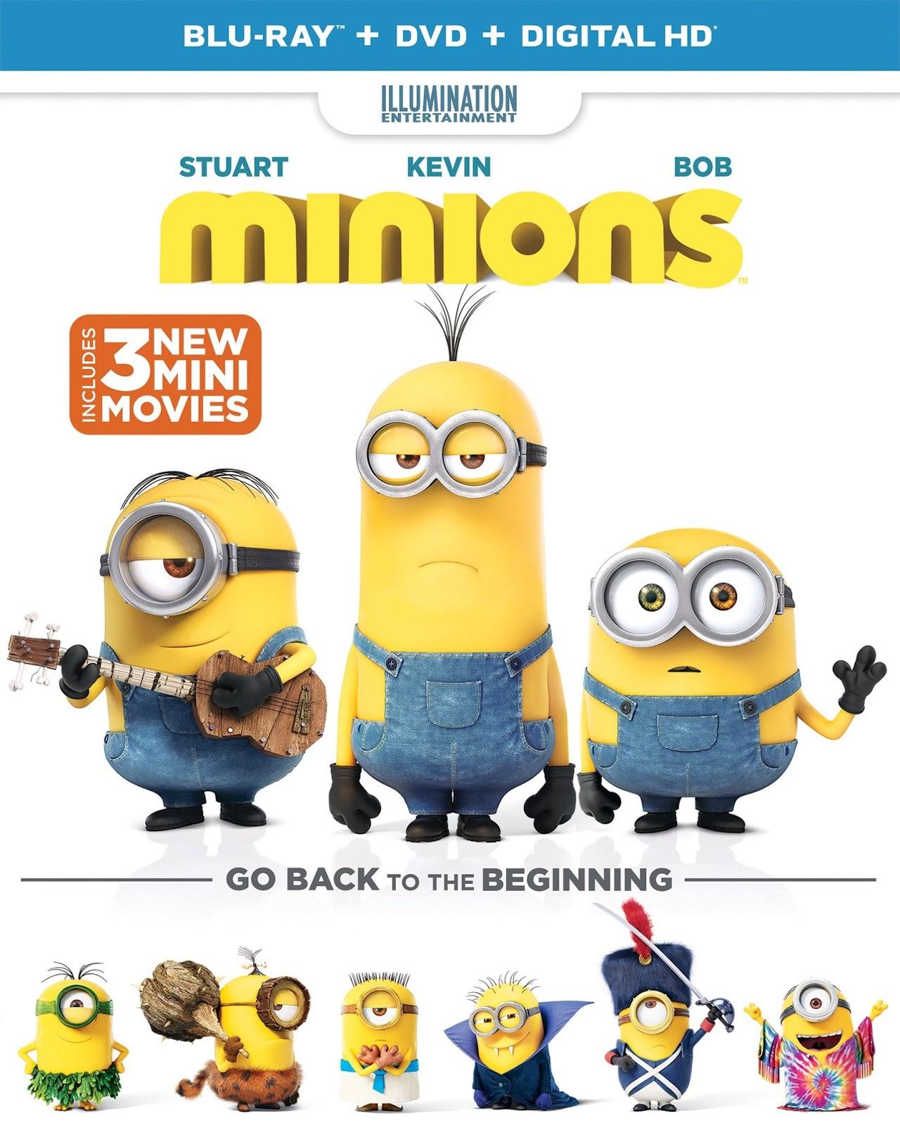 Minions (2015) 1080p BD25 Cover Caratula