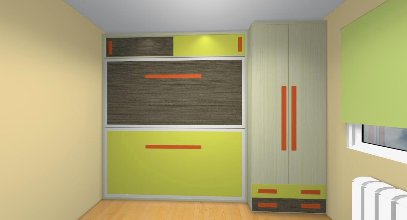 Literas abatibles una apuesta segura para ahorrar espacio - Literas con armario incorporado ...