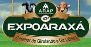Agenda de Shows 2017 Expoaraxa Araxa MG