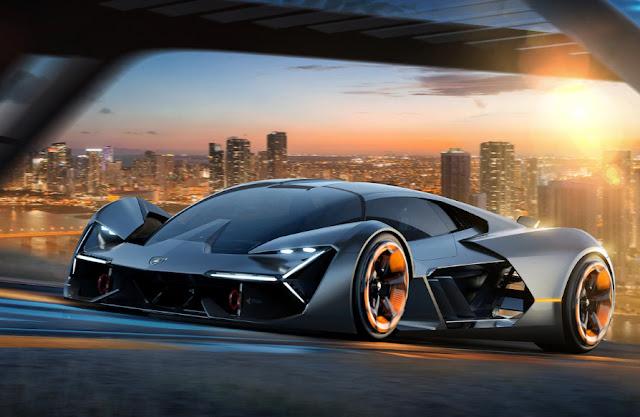 Анонс электрического суперкара Lamborghini