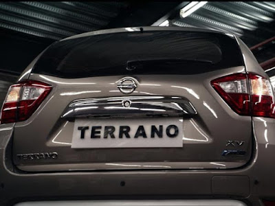 New 2016 Nissan Terrano AMT rear view