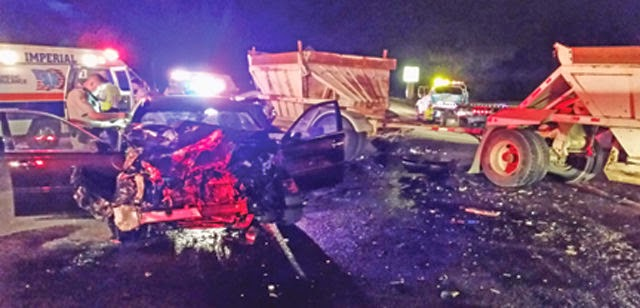 porterville big rig crash highway 190 lexus marcos carranza ortiz mendoza sidhu singh