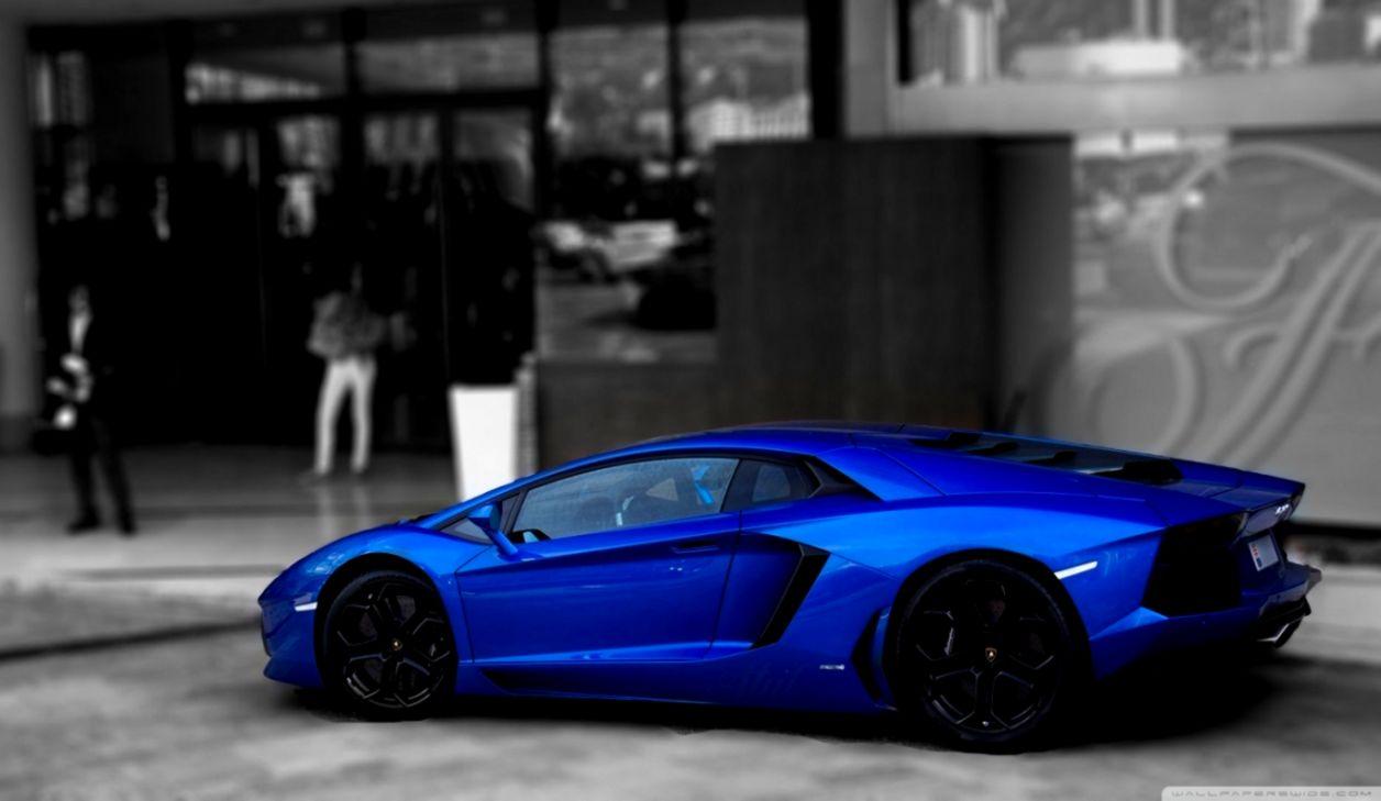 Lamborghini Fire Blue Wallpaper Hd Densus Wallpapers
