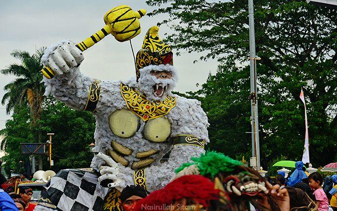 Festival Ogoh-ogoh di Jalan Malioboro 2017