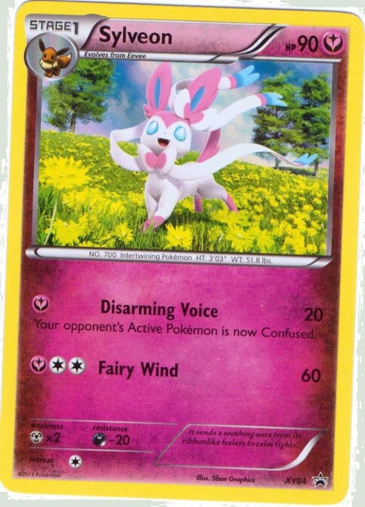 Pokemon Eevee Sylveon Card HD Ex Pokemon C...