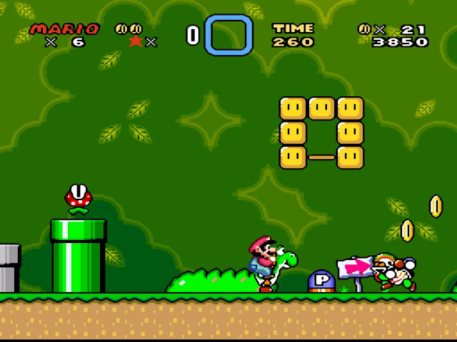 Super Mario World screenshot 1