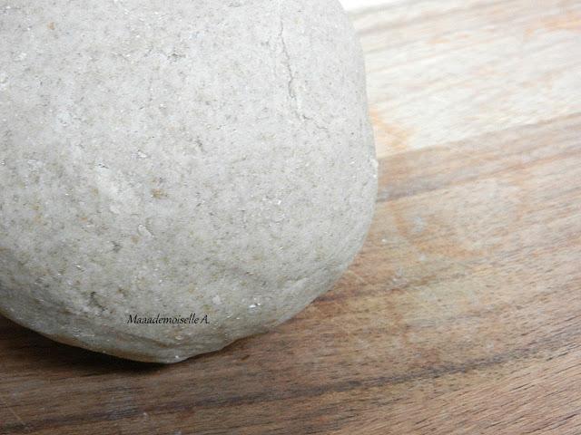 maaademoiselle a pâte à tarte sucrée à la farine de seigle