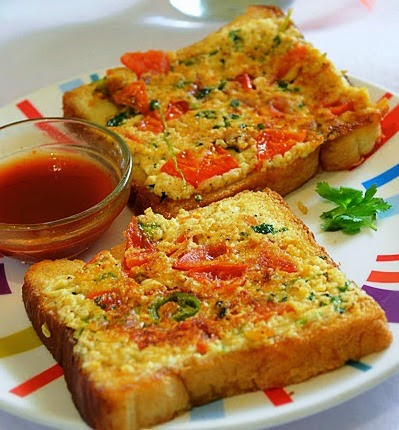 Cheese Chilli Toast (veg) From Imperial inn
