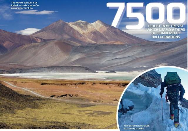 Battle Life-Threatening Altitude, How to cross the world's most treacherous terrain