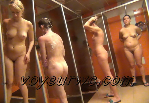 Shower Spy 95-103 (Hidden Camera in a Fitness Club Shower)