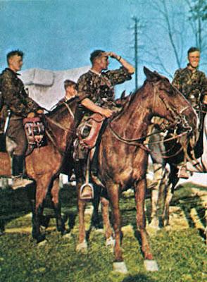 Caballería alemana en la Segunda Guerra Mundial
