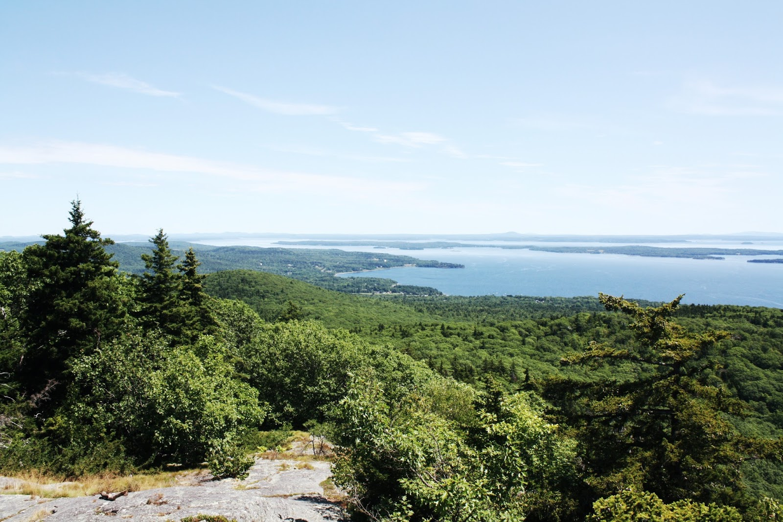 Bald Rock Mountain Trail, Penobscot Bay