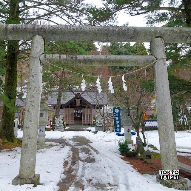 【春日山神社】春日山城半山腰 祭祀上杉謙信的神社