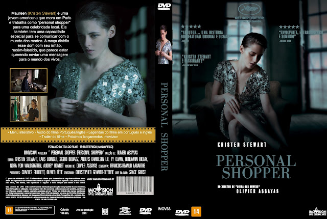 Capa DVD Personal Shopper