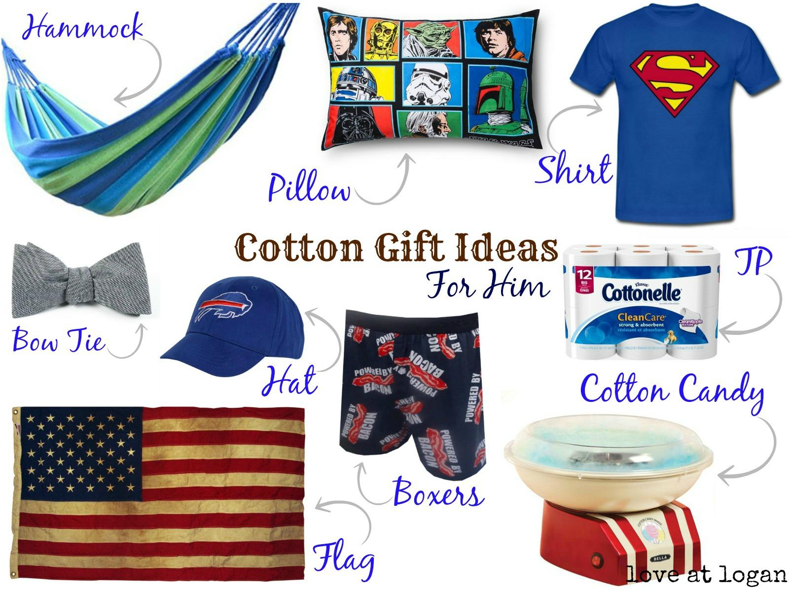 Love At Logan: Second Anniversary Cotton Gift Ideas