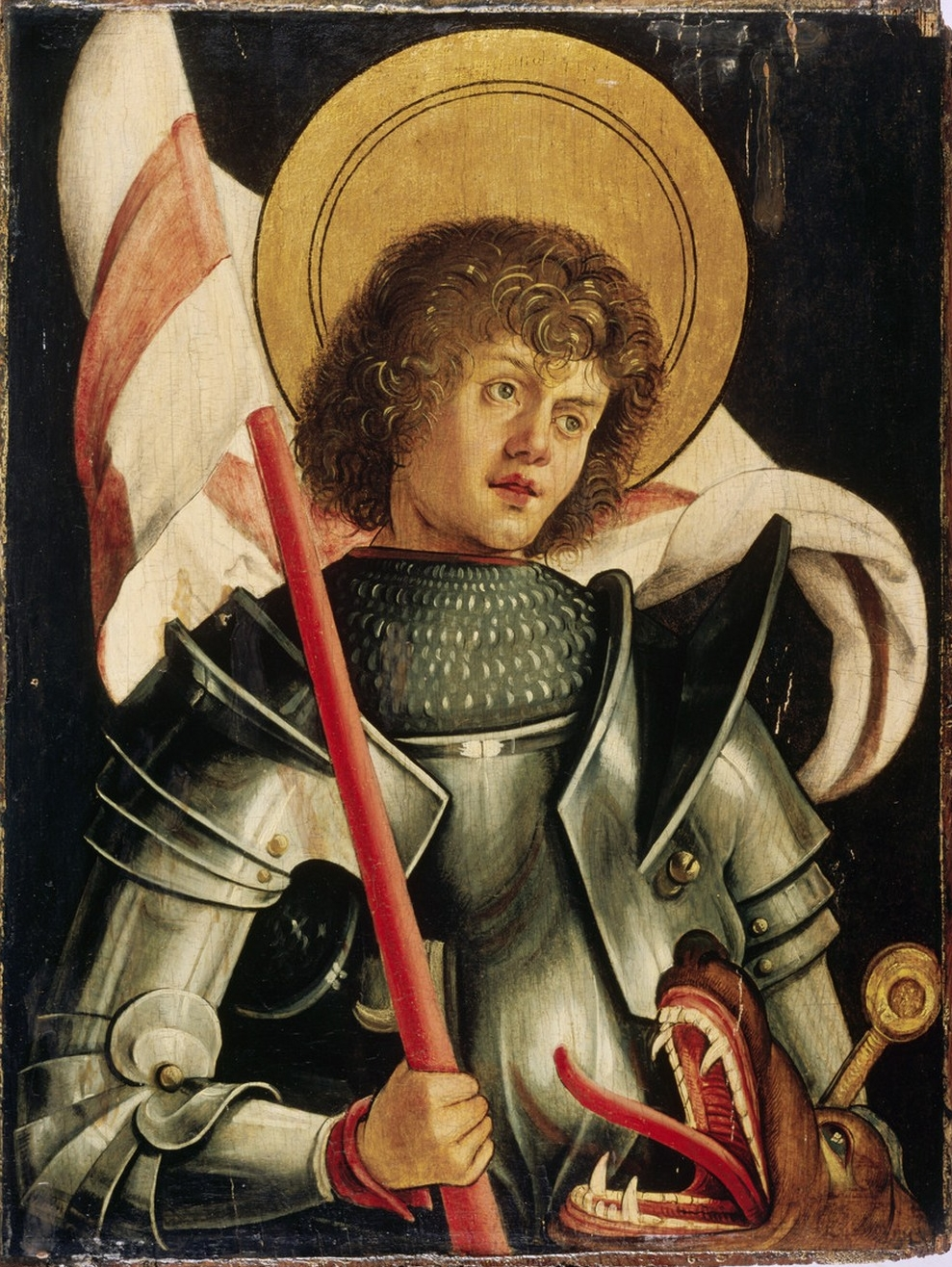 pergelator  saint george of lydda by hans von kulmbach circa 1510