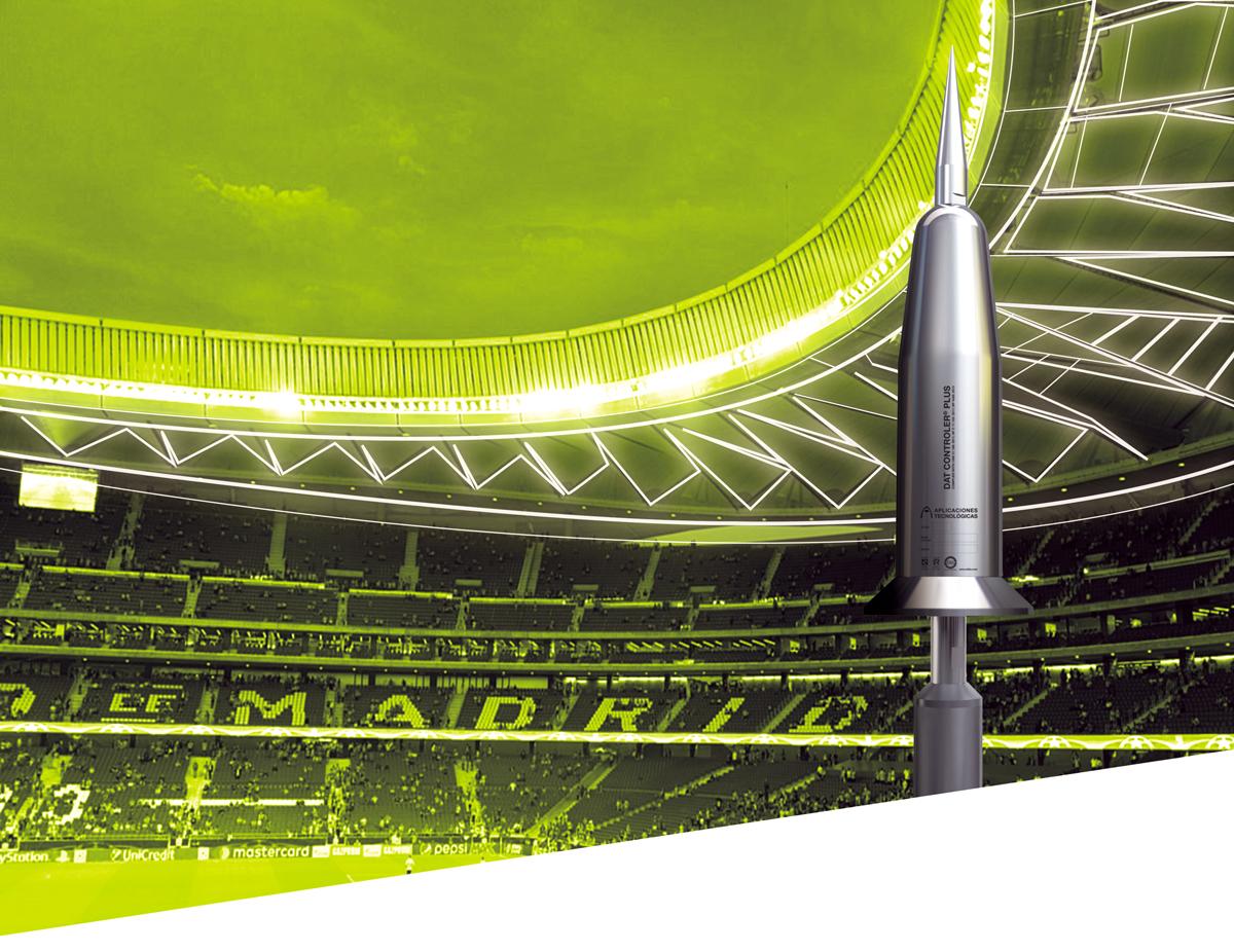 El nuevo estadio wanda metropolitano est protegido contra for Puerta 3 wanda metropolitano