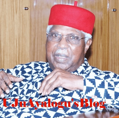 Alex Ekwueme collapses at home, rushed to Enugu hospital