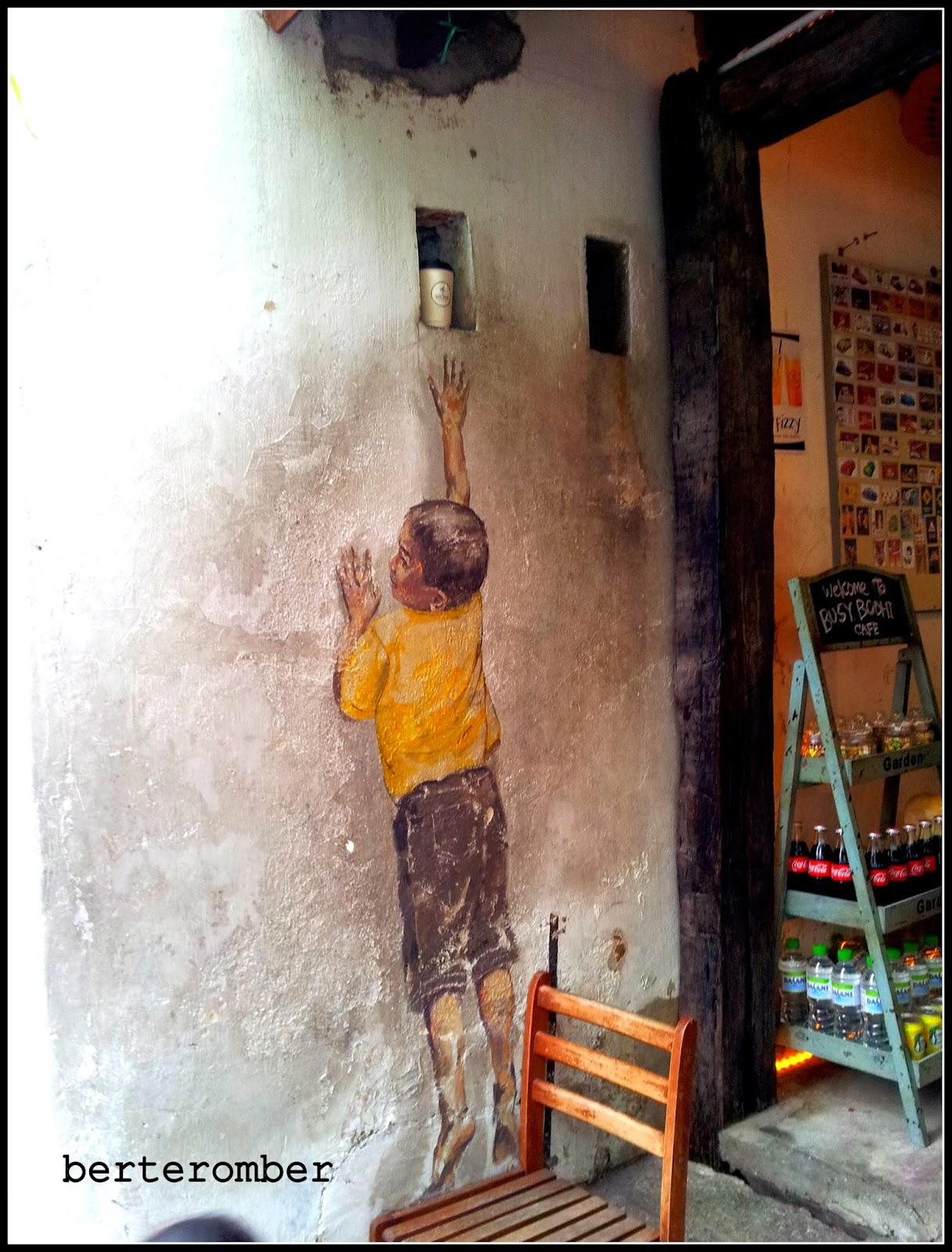 Swing Chair Penang Turquoise Desk Target Berteromber Street Art