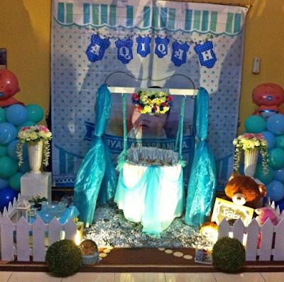 dekorasi aqiqah sederhana terbaru
