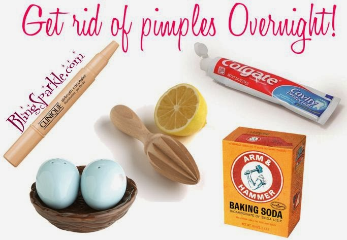 How to get rid of small pimples overnight