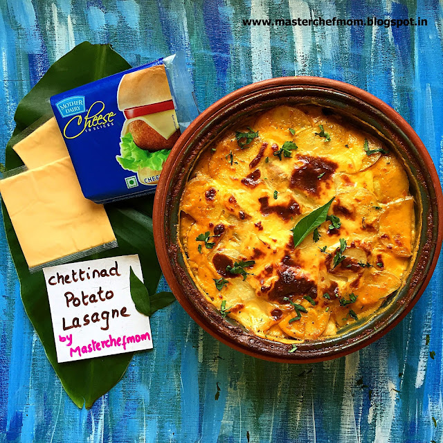 Chettinad Potato Lasagne