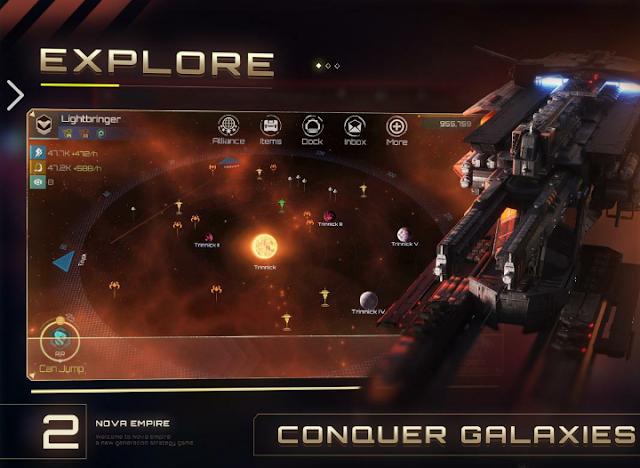 Nova Empire Apk+Data Download For Android it's a High Graphics Game