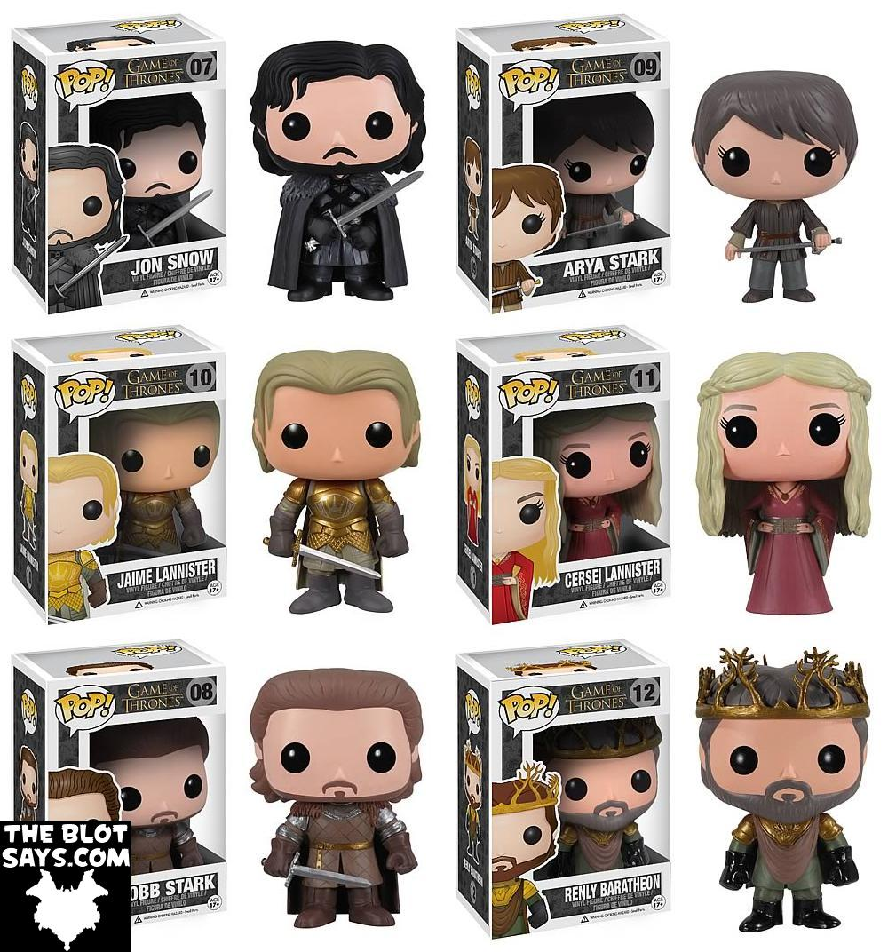 The Blot Says Game Of Thrones Pop Television Series 2