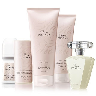 Avon Rare Pearls Fragrance Collection