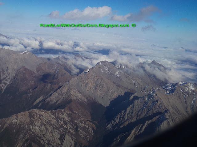 Aerial view, JiuZhaiGou, Sichuan, China