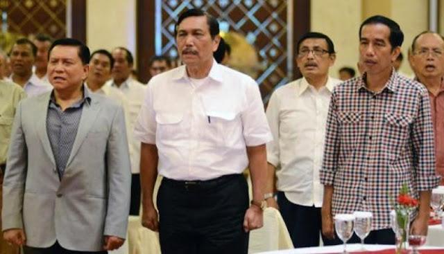 Luhut Binsar Panjaitan (LBP) adalah Konfirmasi Kelemahan Jokowi