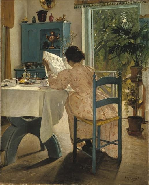 Laurits Andersen Ring После завтрака