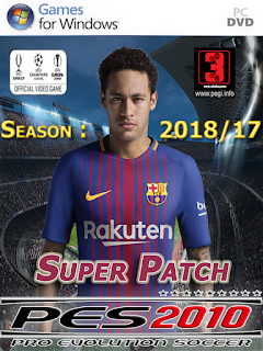 PES 10 SUPER PATCH 2018