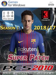 PES 10 SUPER PATCH 2018