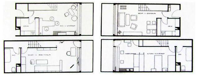 la forma moderna en latinoam rica corbusier haus en berlin interbau. Black Bedroom Furniture Sets. Home Design Ideas