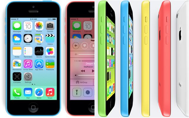 iPhone 5C dan iPhone 5S