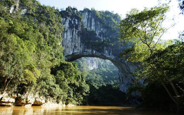 Maior ponte natural do mundo