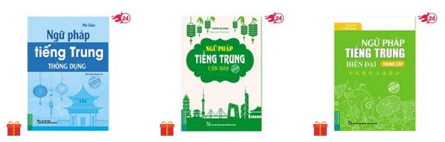 Sách ngữ pháp tiếng Trung