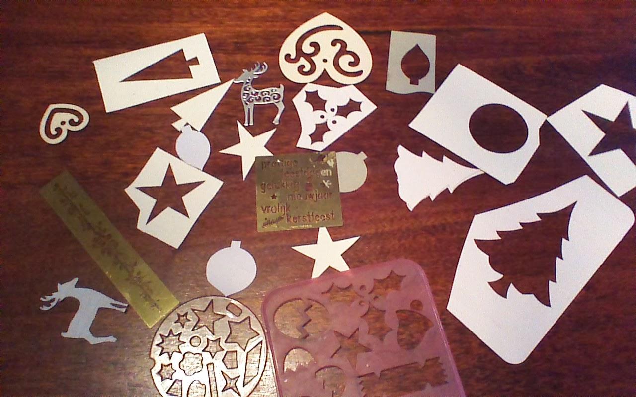 Elefantangle Kerstkaarten Maken Making Christmas Cards