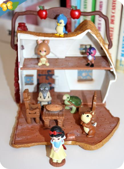 micro playset Blanche Neige Disney Animators