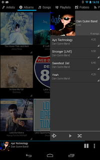 Rocket Music Player - Aplikasi Pemutar Musik Android