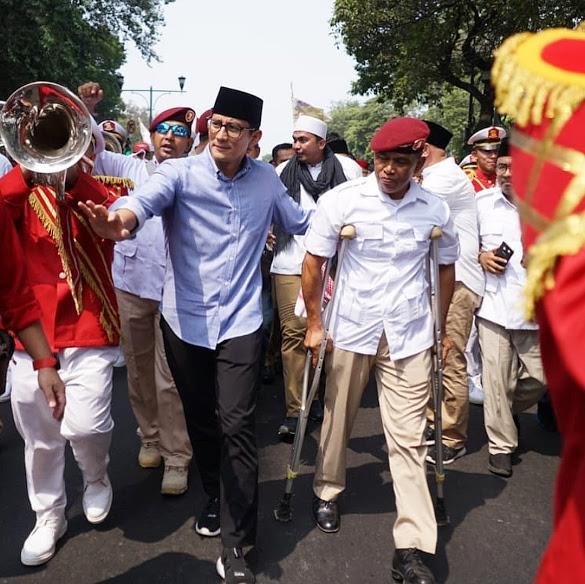 Sandiaga, sang Salahuddin Zaman Now