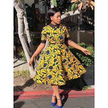Trending Ankara Gown Styles Woman African