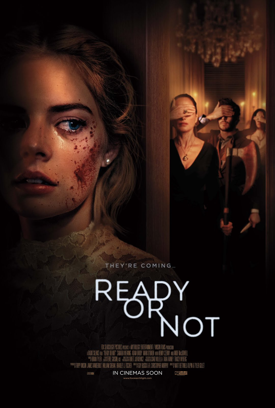 Ready or Not (2019) Hindi Dubbed 720p HDCAM 800MB Free Download