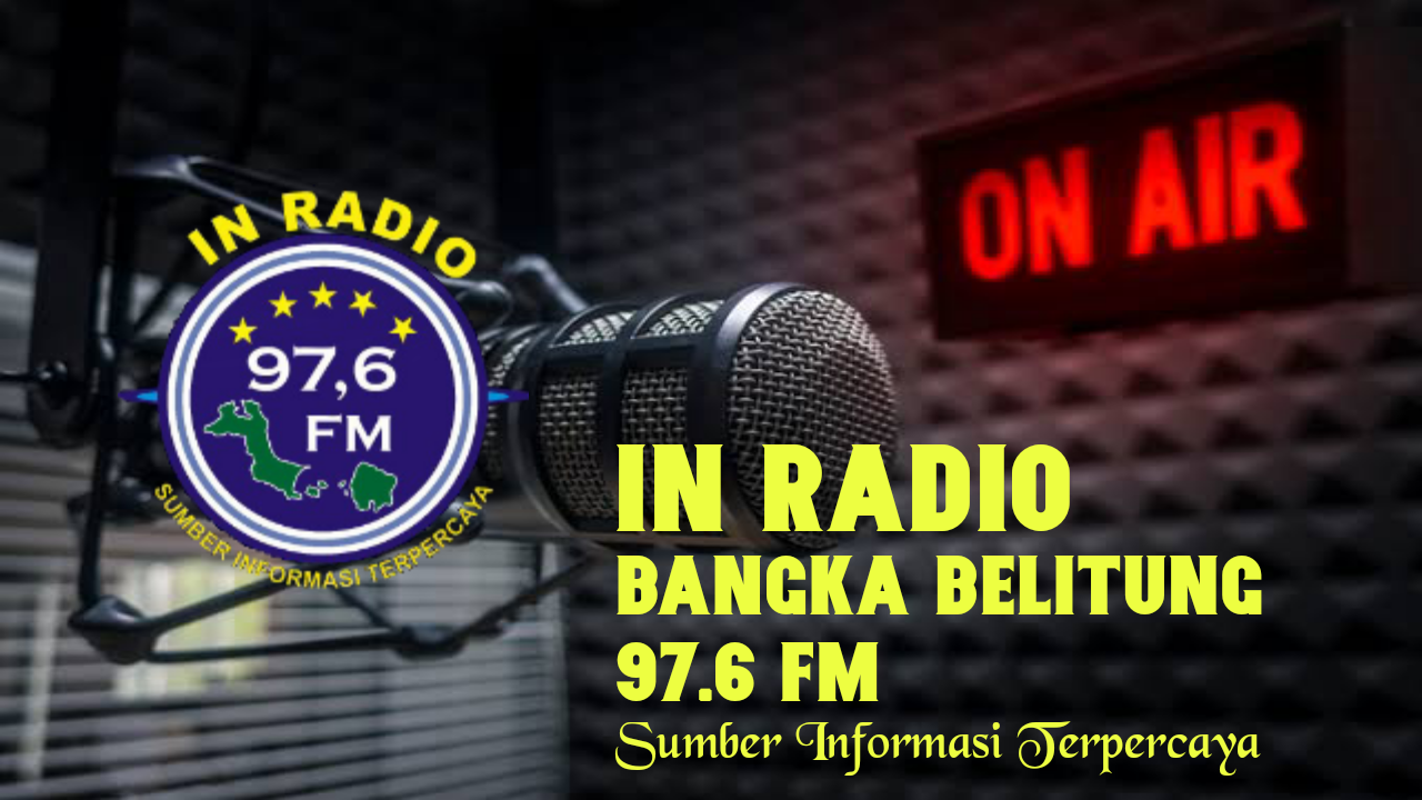 IN RADIO 97.6 FM BANGKA BELITUNG