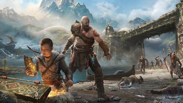 Kratos with atreus