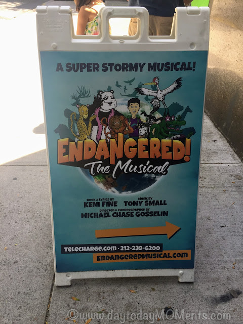 Endangered The Musical at the Davenport Theatre