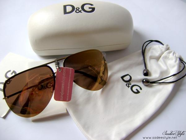 Dolce & Gabana Sunglasses 6068 Gold 02/F9