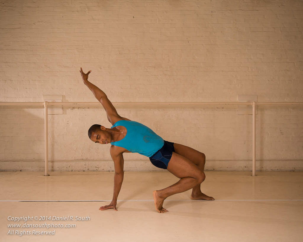 a photo of a dancer improvising a modern dance routine
