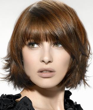 Moda Ella Y Mas Nuevos Y Modernos Peinados Cortos Con Flequillo En - Peinados-cortos-modernos